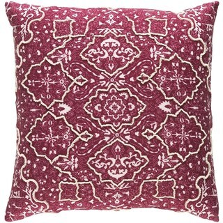 Decorative Saintes 20-inch Down or Poly Filled Throw Pillow