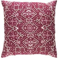 Decorative Saintes 20-inch Feather Down or Poly Filled Throw Pillow