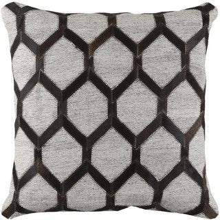 Decorative Schroeder 20-inch Feather Down or Poly Filled Throw Pillow