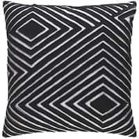 Decorative Sandi 20-inch Feather Down or Poly Filled Throw Pillow