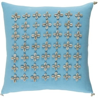 Decorative Rotorua 20-inch Down or Poly Filled Throw Pillow