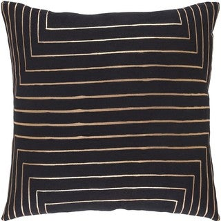 Decorative Rossiare 20-inch Down or Poly Filled Throw Pillow