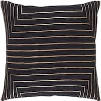 Decorative Rossiare 20-inch Feather Down or Poly Filled Throw Pillow