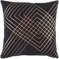 Decorative Rosa 20-inch Feather Down or Poly Filled Throw Pillow