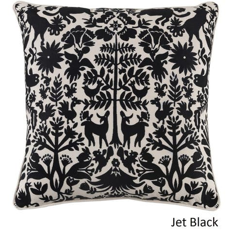 Decorative Rodez 20-inch Feather Down or Poly Filled Throw Pillow