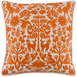 Decorative Rodez 20-inch Down or Poly Filled Throw Pillow