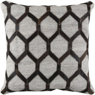 Decorative Schroeder 18-inch Down or Poly Filled Throw Pillow