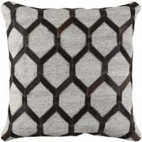 Decorative Schroeder 18-inch Feather Down or Poly Filled Throw Pillow