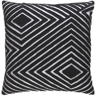 Decorative Sandi 18-inch Feather Down or Poly Filled Throw Pillow