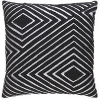 Decorative Sandi 18-inch Down or Poly Filled Throw Pillow