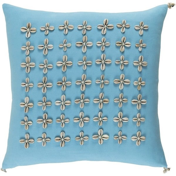 Decorative Rotorua 18-inch Down or Poly Filled Throw Pillow