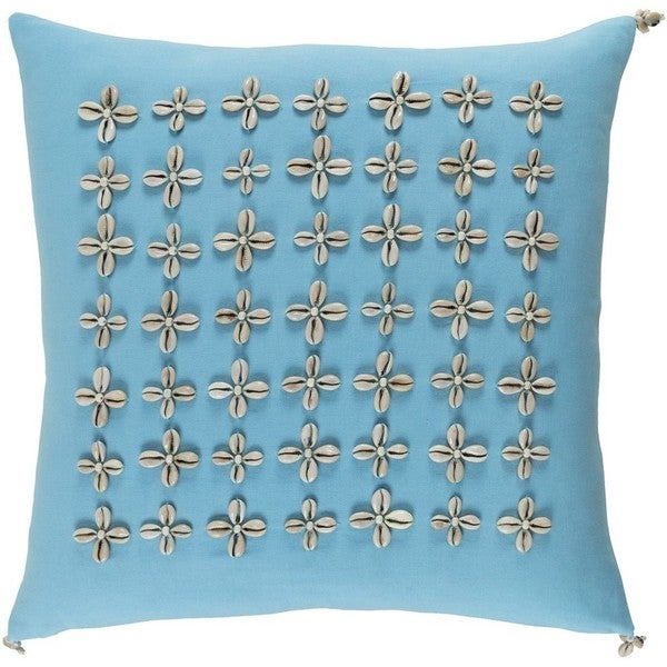 Decorative Rotorua 18-inch Feather Down or Poly Filled Throw Pillow
