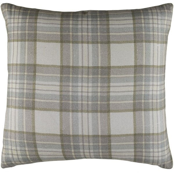 Decorative Romainville 18-inch Feather Down or Poly Filled Throw Pillow