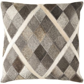Decorative Rockford 18-inch Feather Down or Poly Filled Throw Pillow