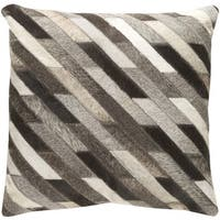 Decorative Rochefort 18-inch Feather Down or Poly Filled Throw Pillow
