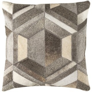 Decorative Roanne 18-inch Down or Poly Filled Throw Pillow