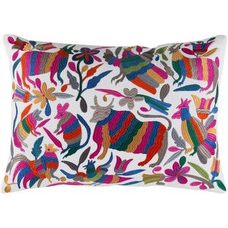 Decorative Ryde Feather Down or Poly Filled Throw Pillow (13 x 19)