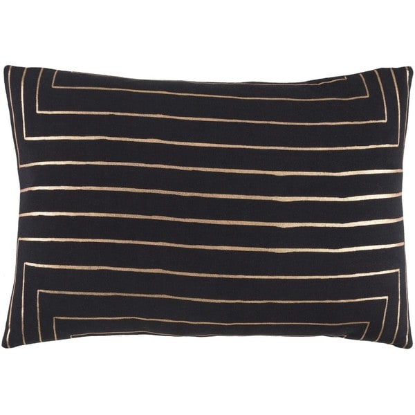 Decorative Rossiare Feather Down or Poly Filled Throw Pillow (13 x 19)