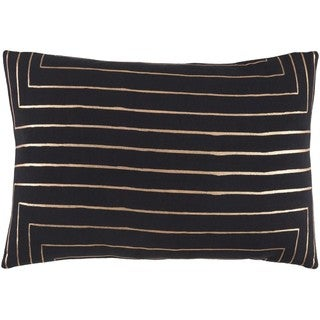 Decorative Rossiare Down or Poly Filled Throw Pillow (13 x 19)