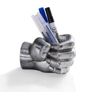 Danya B Antique Silver FIST Pencil Holder|https://ak1.ostkcdn.com/images/products/13134839/P19863720.jpg?impolicy=medium
