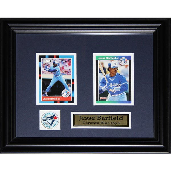 Jesse Barfield Toronto Blue Jays 2-card Frame