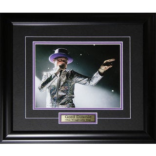 Gord Downie The Tragically Hip Framed Photo (8 x 10)