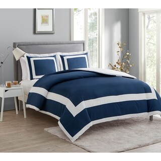 VCNY Avianna 3-piece Hotel Duvet Cover Set