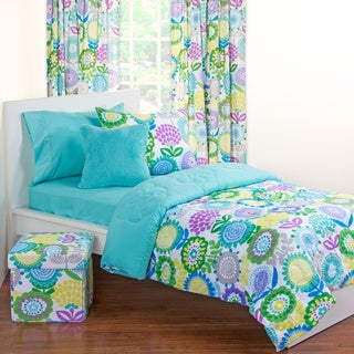 Crayola Pointillist Pansy 11-piece Bedroom in a Box Set