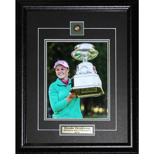 Brooke Henderson PGA Golf 8x10 Photo Frame Set