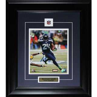 Seattle Seahawks Marshawn Lynch Signed and Framed 8x10 Photo