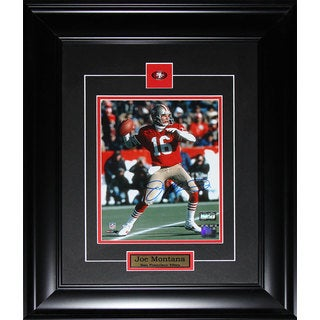 Joe Montana San Francisco 49ers Framed Signed 8x10 Photo
