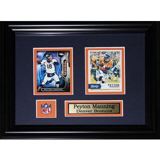 Peyton Manning Denver Broncos Black 2-card Frame