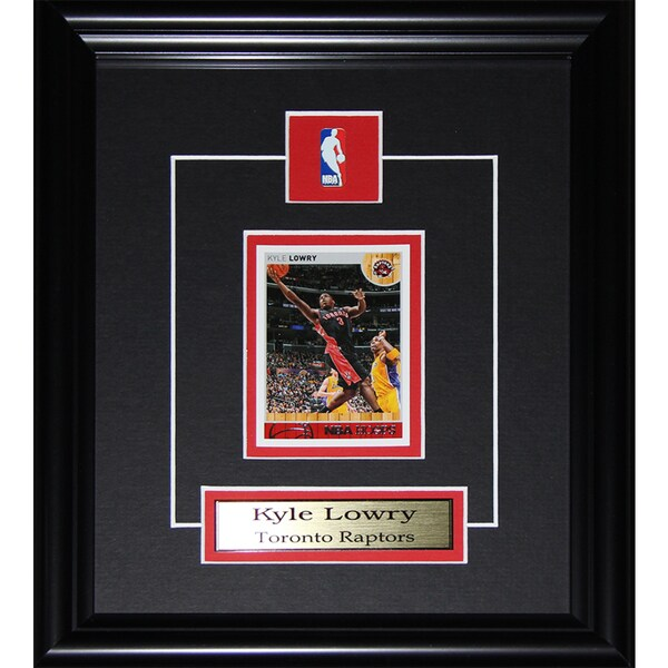Kyle Lowry Toronto Raptors Single Card Frame