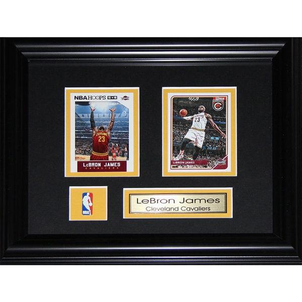 Lebron James Cleveland Cavaliers 2-card Frame