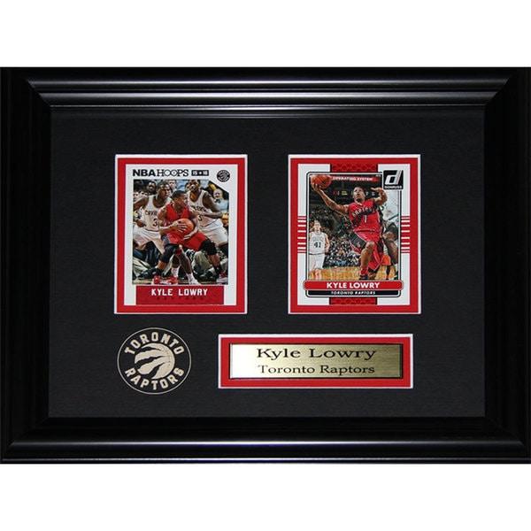Kyle Lowry Toronto Raptors 2-card Frame