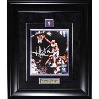Vince Carter Toronto Raptors 8-inch x 10-inch Signed Framed Photo