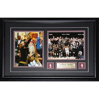 Lebron James 2016 Cleveland Cavaliers NBA Champions 2-Photograph Frame
