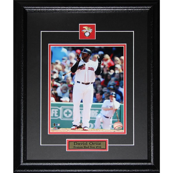 David Oritz Boston Red Sox 8x10 Photo Frame Set