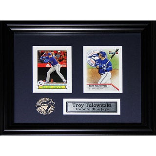 Troy Tulowitzki Toronto Blue Jays 2-card Frame