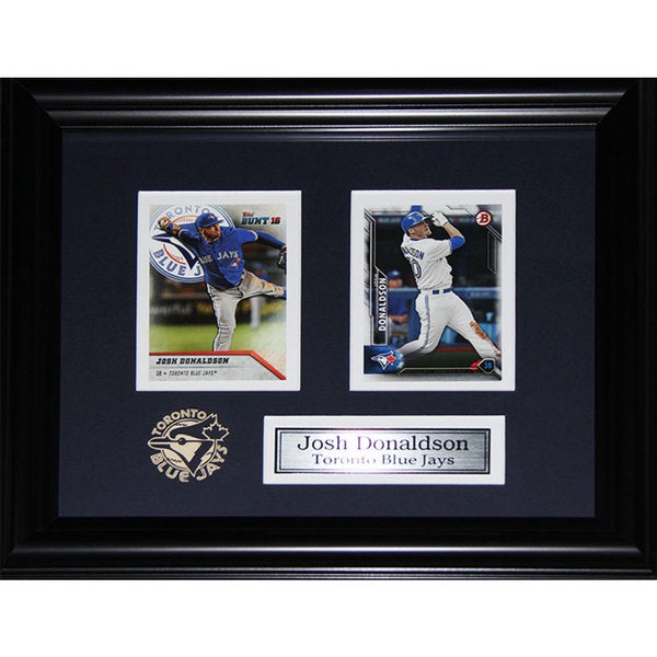 Josh Donaldson Toronto Blue Jays Double-card Framed Set