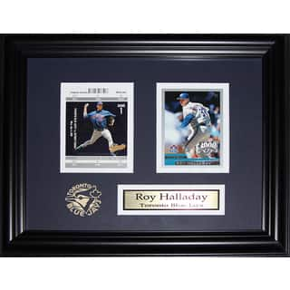 Roy Halladay Toronto Blue Jays 2 Card Frame|https://ak1.ostkcdn.com/images/products/13135743/P19863825.jpg?impolicy=medium