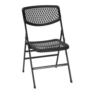 COSCO Commercial Resin Mesh Folding Chair (Pack of 4)