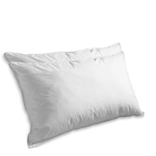 Elegant Comfort 1200-Thread Count Goose Feather Pillow (Set of 2) (2 options available)