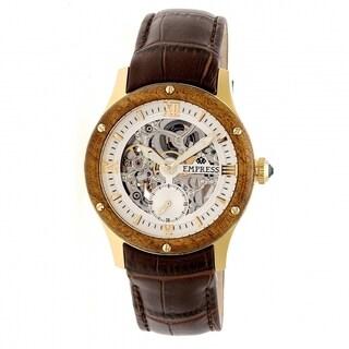 Empress Victoria EMPEM1705 Women's Silver Dial Watch