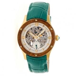 Empress Victoria EMPEM1703 Women's Silver Dial Watch