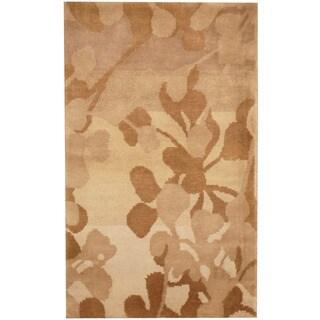 Herat Oriental Indo Hand-knotted Tibetan Wool Rug (2'6 x 4'1)