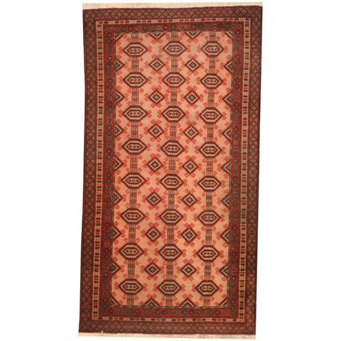 Handmade One-of-a-Kind Balouchi Wool Rug (Afghanistan) - 2'7 x 4'8