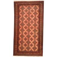 Herat Oriental Afghan Hand-knotted Tribal Balouchi Wool Rug (2'7 x 4'8) - 2'7 x 4'8