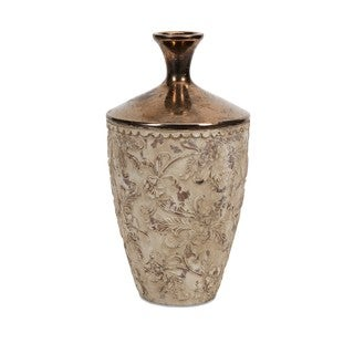 Tennison Tall Bronze Top Vase