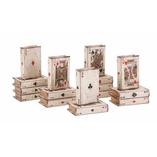Playing Card Book Boxes - Ast 16